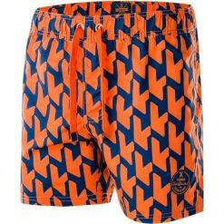 Kąpielówki męskie: AQUAWAVE Szorty męskie Waveshorts Celosia Orange Print/Insignia Blue r. L