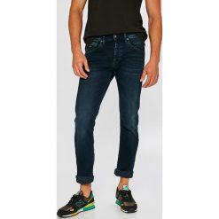 Pepe Jeans - Jeansy Track. Niebieskie jeansy męskie regular Pepe Jeans. W wyprzedaży za 299,90 zł.