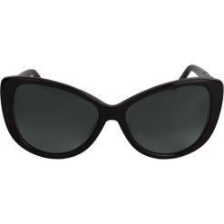 Okulary przeciwsłoneczne damskie aviatory: Czarne okulary przeciwsłoneczne