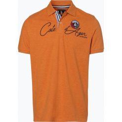 Koszulki polo: Andrew James Sailing - Męska koszulka polo, pomarańczowy