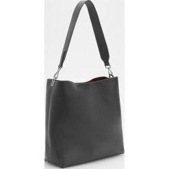 Torebka na ramię - Czarny. Czarne torebki klasyczne damskie marki B'TWIN, z materiału. Za 129,99 zł.