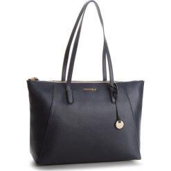 Torebka COCCINELLE - CF5 Clementine E1 CF5 11 01 01 Bleu B11. Brązowe torebki klasyczne damskie marki Coccinelle, ze skóry. W wyprzedaży za 919,00 zł.