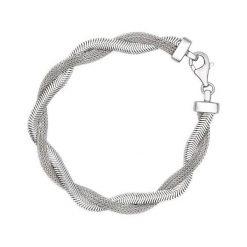 Bransoletki damskie: Srebrna Bransoletka – srebro 925