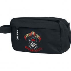Guns N' Roses Appetite Torebka na przybory toaletowe czarny. Czarne torebki klasyczne damskie Guns N' Roses. Za 99,90 zł.