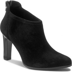 Botki LASOCKI - 1315-06 Czarny. Czarne buty zimowe damskie marki Lasocki, ze skóry. Za 229,99 zł.
