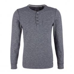 S.Oliver T-Shirt Męski M Ciemny Niebieski. Szare t-shirty męskie marki S.Oliver, l, z bawełny, z klasycznym kołnierzykiem, z długim rękawem. Za 119,00 zł.