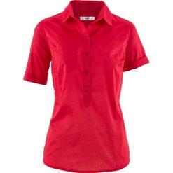 Tunika, krótki rękaw bonprix czerwony. Czerwone tuniki damskie bonprix, z krótkim rękawem. Za 32,99 zł.