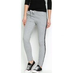 Spodnie damskie: Szare Spodnie Dresowe Conveniently