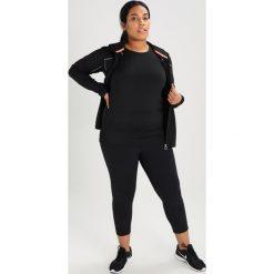 Raiski MILLY Tshirt basic black. Czarne topy sportowe damskie Raiski, z elastanu. Za 149,00 zł.