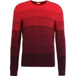 Swetry klasyczne męskie: BOSS CASUAL AKATRUSCO Sweter bright red
