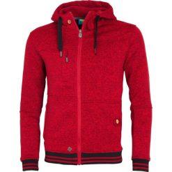Bejsbolówki męskie: Woox Bluza męska Fleece Polar czerwona r. S