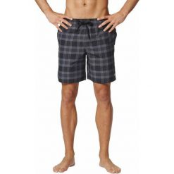 Kąpielówki męskie: Adidas Kąpielówki Check Sh Ml Black/Granite/Grey L