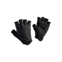 Rękawiczki ROADR 500. Czarne rękawiczki damskie B'TWIN, z materiału. Za 29,99 zł.