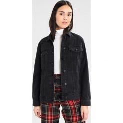 Bomberki damskie: Noisy May NMOLE JACKET Kurtka jeansowa black