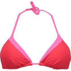 """Biustonosz bikini """"Savannah Sunset"""" w kolorze czerwono-różowym. Czerwone biustonosze Heidi Klum Intimates. W wyprzedaży za 129,95 zł."""