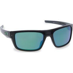 Okulary przeciwsłoneczne OAKLEY - Drop Point OO9367-0460 Black Ink/Jade Iridium. Czarne okulary przeciwsłoneczne męskie aviatory Oakley, z tworzywa sztucznego. W wyprzedaży za 479,00 zł.
