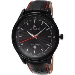 Zegarki męskie: Zegarek Gino Rossi męski Topmen czarny (10212A-1A3)