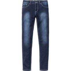 """Dżinsy Power Stretch Skinny Fit Straight bonprix ciemnoniebieski """"stone used"""". Zielone jeansy męskie relaxed fit marki bonprix, w kropki, z kopertowym dekoltem, kopertowe. Za 99,99 zł."""