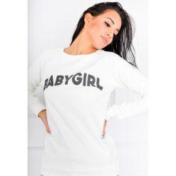 Bluzy sportowe damskie: Bluza z napisem BABY GIRL