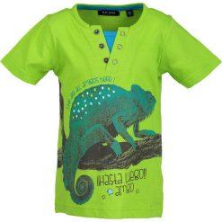 Blue Seven - T-shirt dziecięcy 92-128 cm. Niebieskie t-shirty męskie z nadrukiem Blue Seven, z bawełny. Za 59,90 zł.
