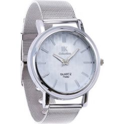 Srebrny Zegarek Office Custom. Szare zegarki damskie Born2be, srebrne. Za 24,99 zł.
