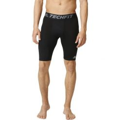 Bermudy męskie: Adidas Spodenki męskie Techfit Base Short Tights czarne r. XS (AJ5037)