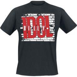 T-shirty męskie: Billy Idol Logo T-Shirt czarny