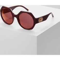 Dolce&Gabbana Okulary przeciwsłoneczne bordeaux. Czerwone okulary przeciwsłoneczne damskie lenonki Dolce&Gabbana. Za 989,00 zł.