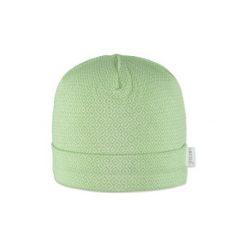 Little  Czapka Retro, zielony - Gr.Niemowlę (0 - 6 miesięcy). Zielone czapeczki niemowlęce marki Little, z bawełny. Za 29,00 zł.