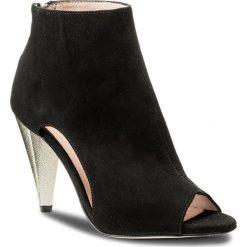 Botki EVA MINGE - Pamplona 3T 18SF1372320ES 801. Czarne buty zimowe damskie Eva Minge, ze skóry. W wyprzedaży za 379,00 zł.