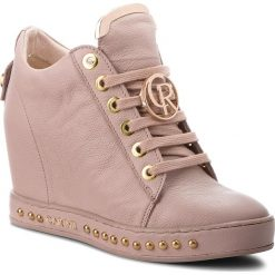 Sneakersy CARINII - B4616 K14-000-000-C98. Czerwone sneakersy damskie Carinii, z materiału. W wyprzedaży za 259,00 zł.