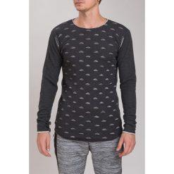 Ciemnoszary Sweter M3021. Szare swetry klasyczne męskie marki Fasardi, m. Za 81,75 zł.