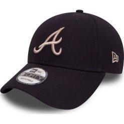 New Era - Czapka League Essential Atlanta Braves. Czarne czapki z daszkiem męskie New Era, z bawełny. W wyprzedaży za 79,90 zł.