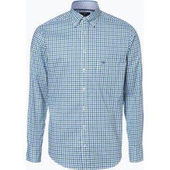 Koszule męskie na spinki: Fynch Hatton – Koszula męska, zielony