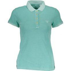 Bluzki damskie: Koszulka polo w kolorze turkusowym