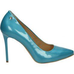 Buty ślubne damskie: Czółenka - 2378 VER CELE