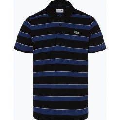 Koszulki polo: Lacoste – Męska koszulka polo, czarny