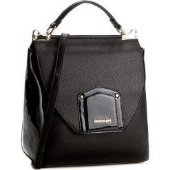Torebka MONNARI - BAGA530-M20 Black With Black Lacquer. Czarne torebki klasyczne damskie Monnari, ze skóry ekologicznej. W wyprzedaży za 159,00 zł.
