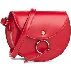 Torebka MONNARI - BAG0610-005 Red. Czerwone listonoszki damskie Monnari, ze skóry ekologicznej. W wyprzedaży za 99,00 zł.