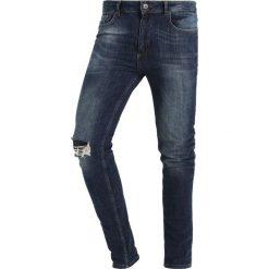 Pier One Jeans Skinny Fit blue denim. Niebieskie jeansy męskie marki Pier One. Za 149,00 zł.