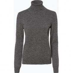 Franco Callegari - Sweter damski z czystego kaszmiru, szary. Zielone swetry klasyczne damskie marki Franco Callegari, z napisami. Za 579,95 zł.