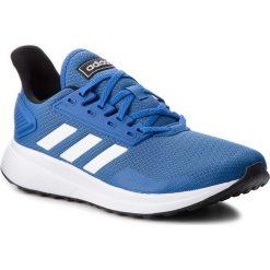 Buty adidas - Duramo 9 BB7067 Blue/Ftwwht/Cblack. Niebieskie buty do biegania męskie Adidas, z materiału, na sznurówki. W wyprzedaży za 189,00 zł.