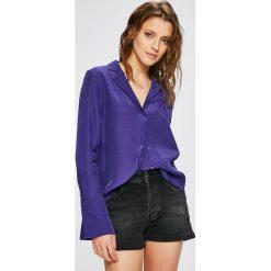 Trendyol - Koszula. Szare koszule damskie marki Trendyol, z tkaniny, casualowe, z długim rękawem. W wyprzedaży za 79,90 zł.