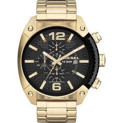 Zegarek DIESEL - Overflow DZ4342 Gold/Gold. Żółte zegarki damskie Diesel. Za 1019,00 zł.