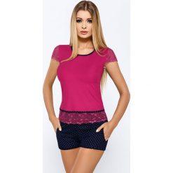 Piżamy damskie: Piżama damska Roxy Fuchsia