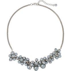 Naszyjniki damskie: Naszyjnik z perełkami bonprix srebrny kolor-szary