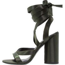 Sandały damskie: New Look TIGGY 2 Sandały na obcasie dark khaki