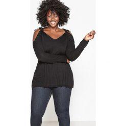 Kardigany damskie: Sweter z odkrytymi ramionami