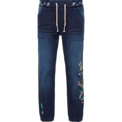 """Dżinsy """"Bibi"""" - Regular fit - w kolorze granatowym. Niebieskie jeansy dziewczęce Name it Kids. W wyprzedaży za 77,95 zł."""