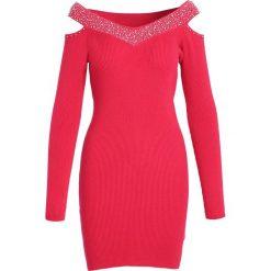 Czerwona Sukienka Summer Of Love. Czerwone sukienki marki Born2be, l, z dzianiny. Za 69,99 zł.